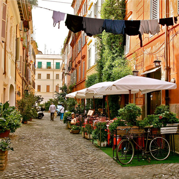 perierga.gr - Trastevere: Η Μονμάρτη της Ιταλίας!