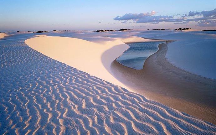 perierga.gr - H παράξενη λευκή έρημος Farafra!