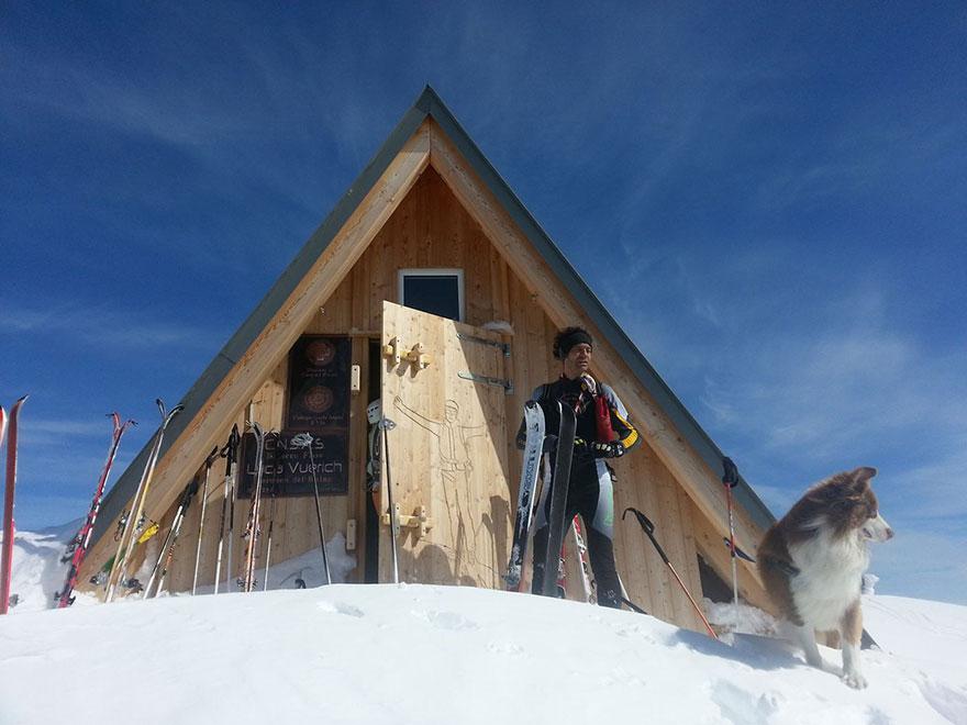 perierga.gr - Κάμπινγκ στην κορυφή του βουνού!