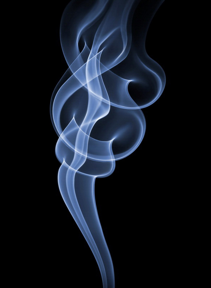 perierga.gr - Φωτογραφίζοντας εκπληκτικά σχέδια από καπνό!
