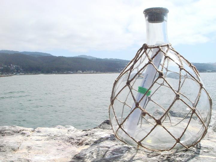 perierga.gr - Συγκινητικό μήνυμα σε σφραγισμένο μπουκάλι!