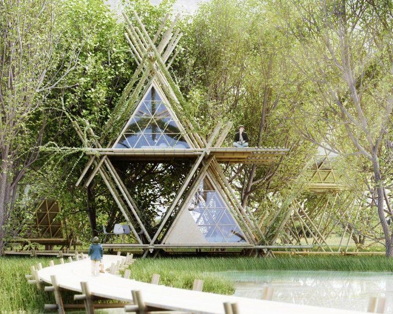 perierga.gr - Οικολογικό ξενοδοχείο στα δέντρα!