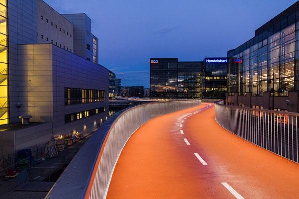 perierga.gr - O εκπληκτικός ποδηλατόδρομος της Κοπεγχάγης!