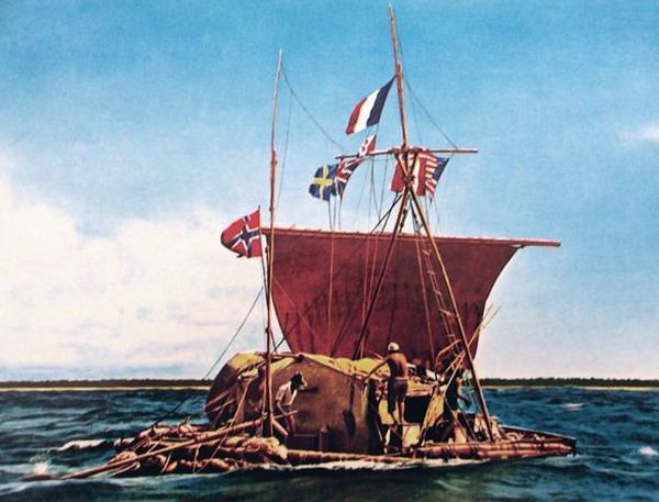 Θορ Χέιερνταλ: Σύγχρονος εξερευνητής με αρχαία σκάφη - Perierga.gr