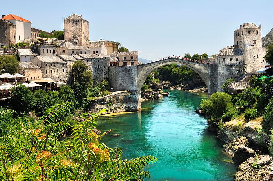 Αποτέλεσμα εικόνας για Γέφυρα Stari Most, Βοσνία Ερζεγοβίνη
