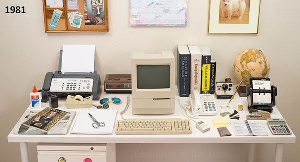 perierga.gr - Η εξέλιξη των γραφείων μέσα σε 30 χρόνια!
