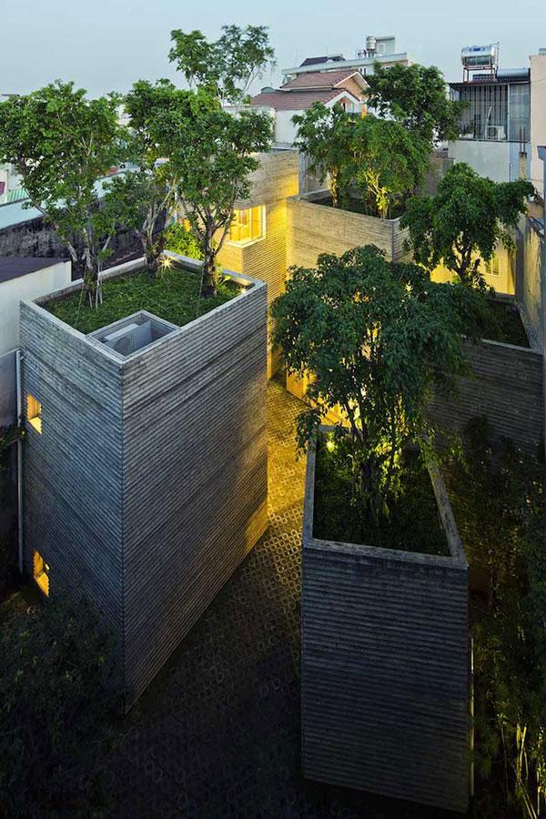 perierga.gr - Εντυπωσιακά διαμερίσματα με δέντρα στην ταράτσα!