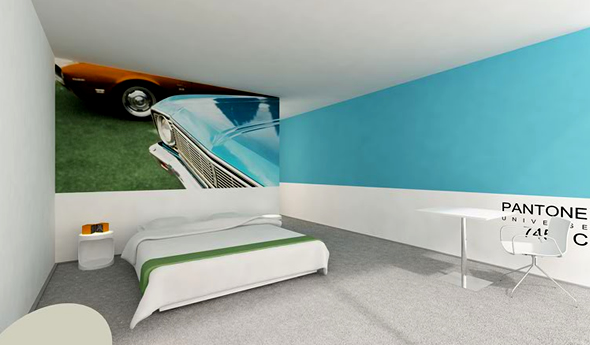 perierga.gr - Ξενοδοχείο Pantone... σε όλα τα χρώματα της Ίριδας!