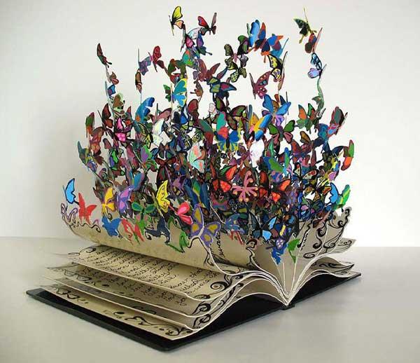 perierga.gr - Εξαιρετικά δείγματα γλυπτικής σε βιβλία!