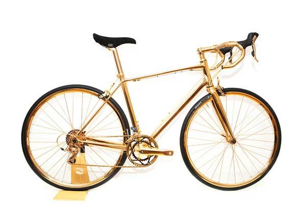 perierga.gr - Χρυσές ορθοπεταλιές με ποδήλατο 24 καρατίων!