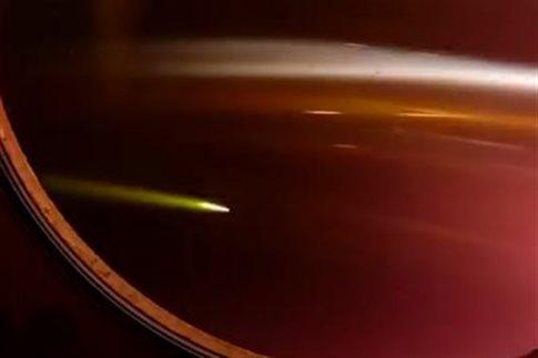 perierga.gr - Τι βλέπουν οι αστροναύτες καθώς επιστρέφουν στη Γη