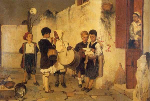 perierga.gr - Πίνακες ζωγραφικής με θέμα τα Χριστούγεννα!
