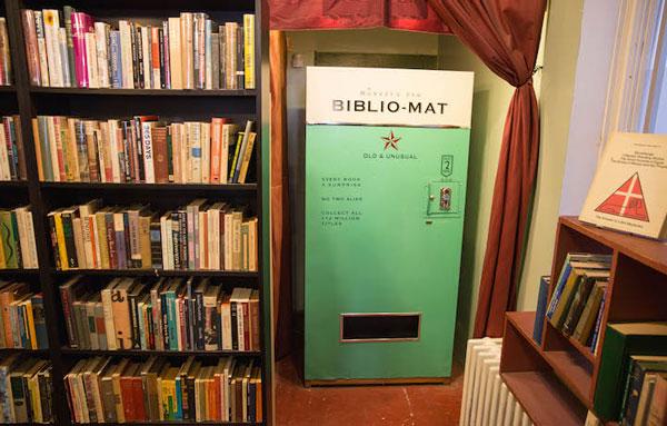 perierga.gr - Biblio-mat: Αυτόματο μηχάνημα πώλησης βιβλίων!