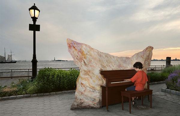 perierga.gr - Καλλιτεχνικά... πιάνα σε εξωτερικούς χώρους!