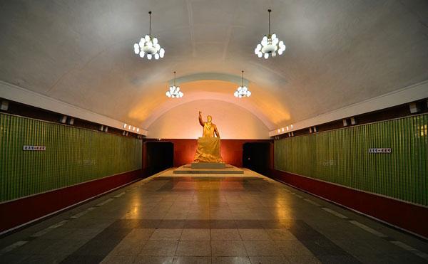 perierga.gr - Το vintage μετρό της Pyongyang!