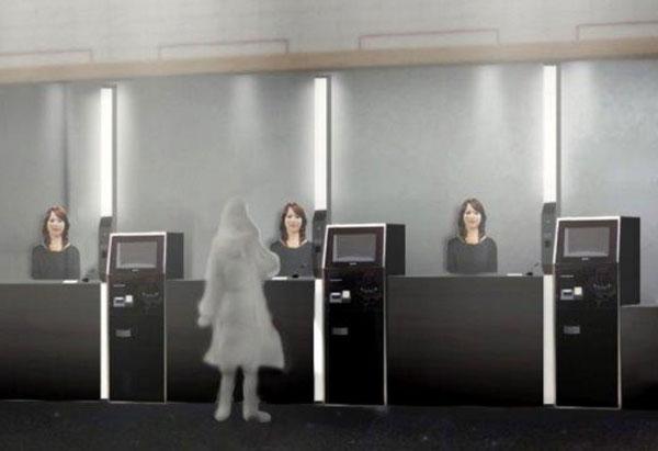 perierga.gr - Ξενοδοχείο με υπαλλήλους... ρομπότ!