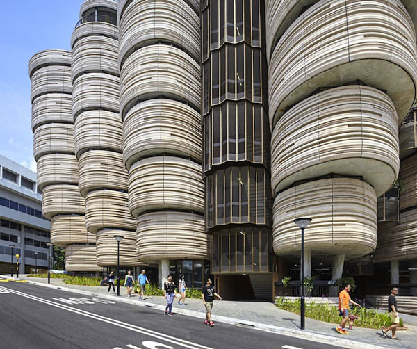 perierga.gr - Κτήριο πανεπιστημίου χωρίς... γωνίες!