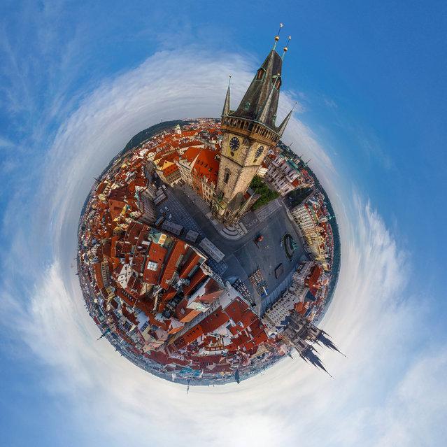 perierga.gr - Πόλεις φωτογραφίζονται σαν μικροί πλανήτες!
