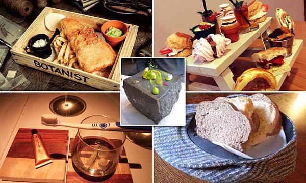 perierga.gr - Τέλος το σερβίρισμα του φαγητού στα πιάτα!