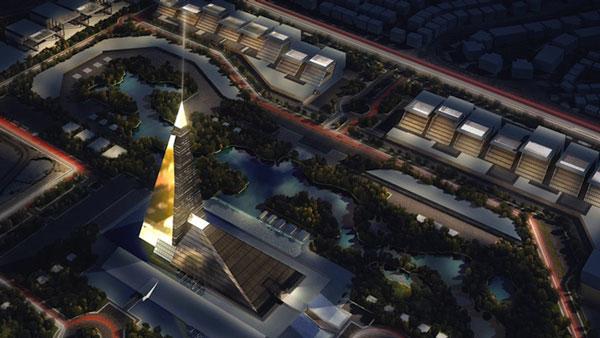 perierga.gr - Ουρανοξύστης σε σχήμα πυραμίδας στο Κάιρο!