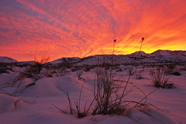 "perierga.gr - Η δύση του ήλιου ""ζωγραφίζει"" τον ουρανό!"