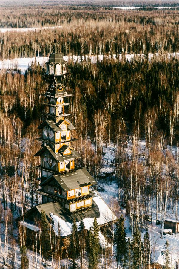 perierga.gr - Το παράξενο σπίτι της Αλάσκας!