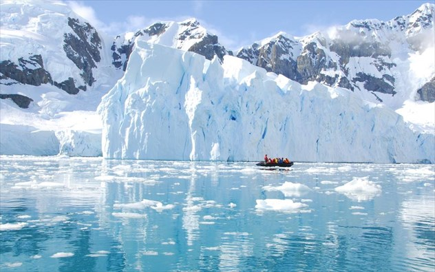 perierga.gr - Η Ανταρκτική «χτύπησε» τους 17 βαθμούς Κελσίου!