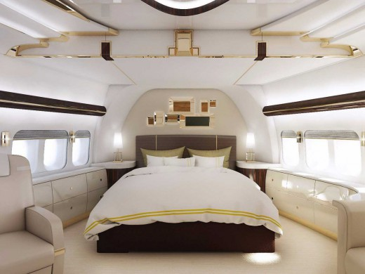 perierga.gr - Στο εσωτερικό του πιο πολυτελούς Boeing 747!