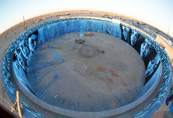 perierga.gr - Τοιχογραφία 360 μοιρών μέσα σε δεξαμενή!