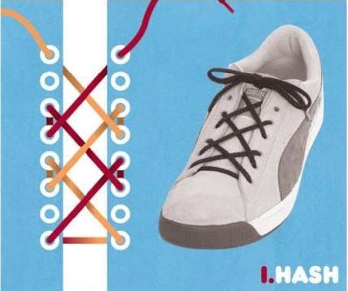 perierga.gr - 15 τρόποι να δέσετε τα κορδόνια των αθλητικών!