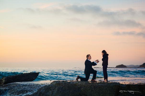 perierga.gr - Extreme προτάσεις γάμου σε απίθανα σημεία!