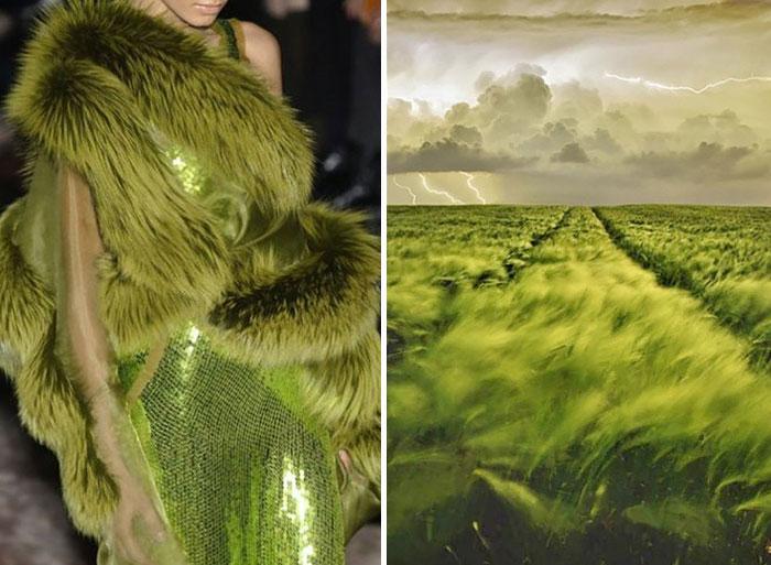 perierga.gr - Η μόδα συνδυάζεται με τη φύση!