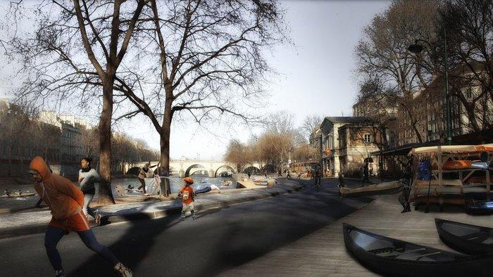 perierga.gr - Η μεταμόρφωση του Παρισιού!
