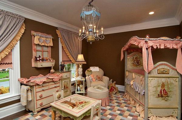 """perierga.gr - """"Πριγκιπικά"""" δωμάτια για νεογέννητα κοριτσάκια!"""