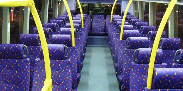 perierga.gr - Γιατί τα καθίσματα των λεωφορείων είναι πάντα πολύχρωμα;