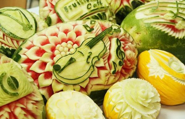 perierga.gr - Εντυπωσιακή τέχνη πάνω σε καρπούζια!