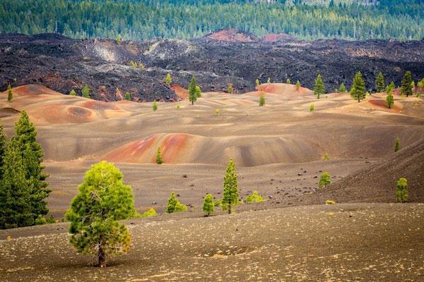 perierga.gr - Οι πολύχρωμοι λόφοι της Καλιφόρνιας!