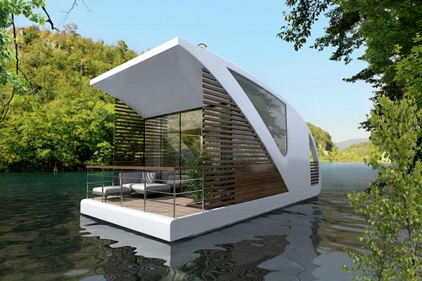 perierga.gr - Πλωτά... δωμάτια για τους λάτρεις της φύσης!