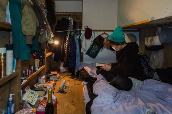 perierga.gr - Η δύσκολη ζωή στα ζωή στα γιαπωνέζικα σπίτια-κουτιά!