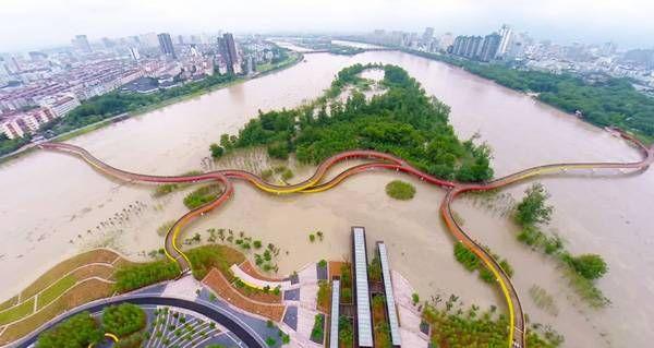 perierga.gr - Ο εκπληκτικός τεχνητός υγρότοπος Yanweizhou