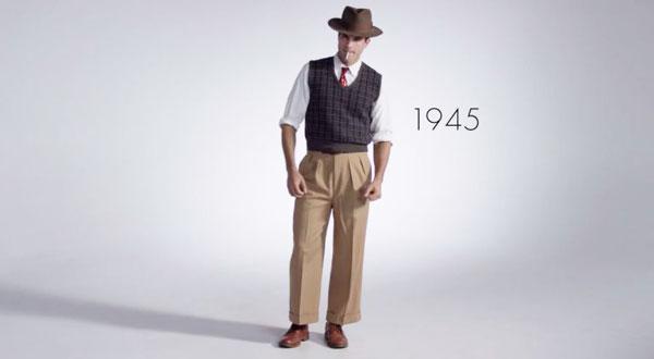 perierga.gr - 100 χρόνια αντρικής μόδας σε 3 λεπτά!