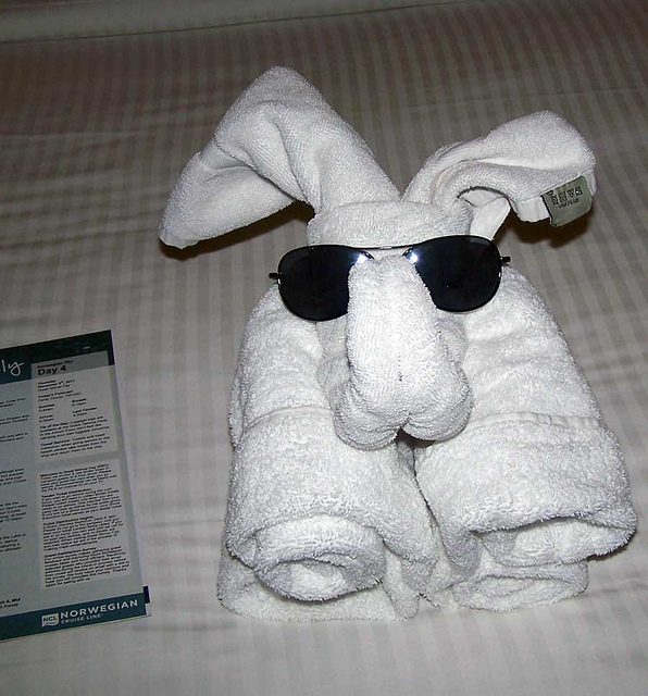 perierga.gr - Εντυπωσιακά διπλωμένες πετσέτες!