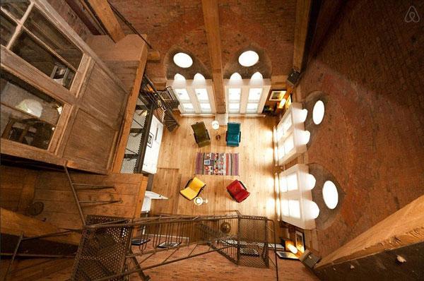 perierga.gr - Δωμάτιο ξενοδοχείου... κρυμμένο σε πύργο ρολογιού!