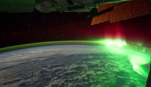 perierga.gr - Το Βόρειο Σέλας από τον Διεθνή Διαστημικό Σταθμό!
