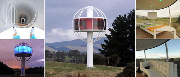 perierga.gr - Διαστημικό σπίτι με θέα 360 μοιρών!