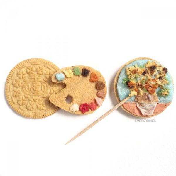 perierga.gr - Τέχνη σε μπισκότα!