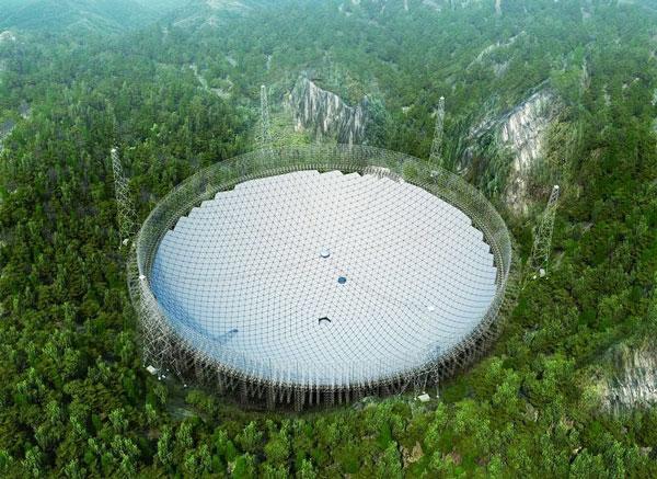 perierga.gr - Στην Κίνα το μεγαλύτερο τηλεσκόπιο του κόσμου!