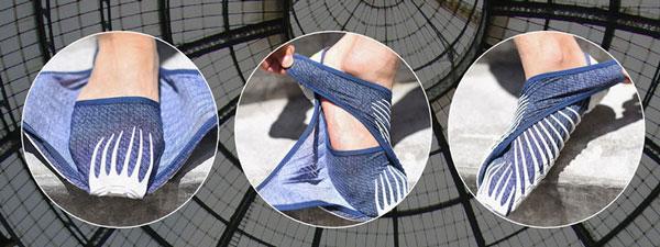 perierga.gr - Καινοτόμα αθλητικά παπούτσια... αγκαλιάζουν το πόδι!
