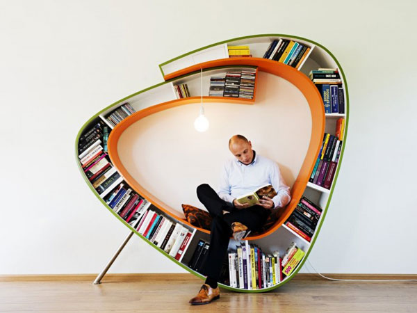 perierga.gr - 10 ευφάνταστες βιβλιοθήκες για σπίτια!