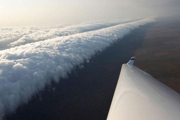 perierga.gr - Παράξενα σύννεφα στον ουρανό!